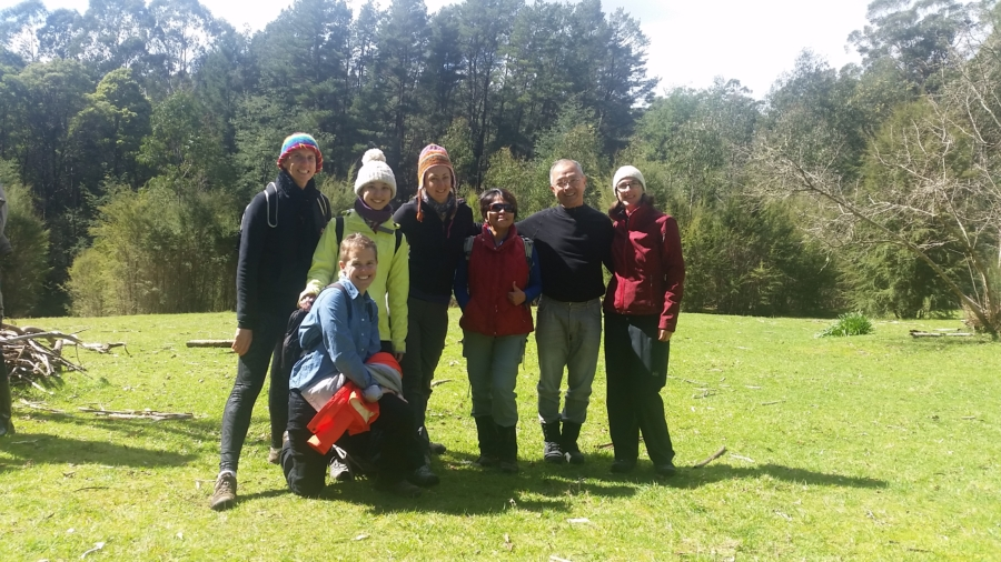 Me and some of my fellow Guides at our training intensive in the Yarra Ranges.
