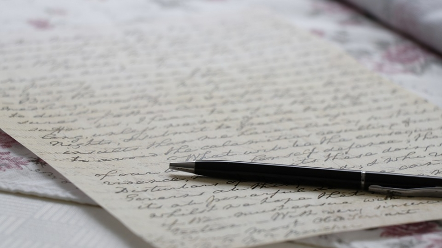 therapeutic letter writing